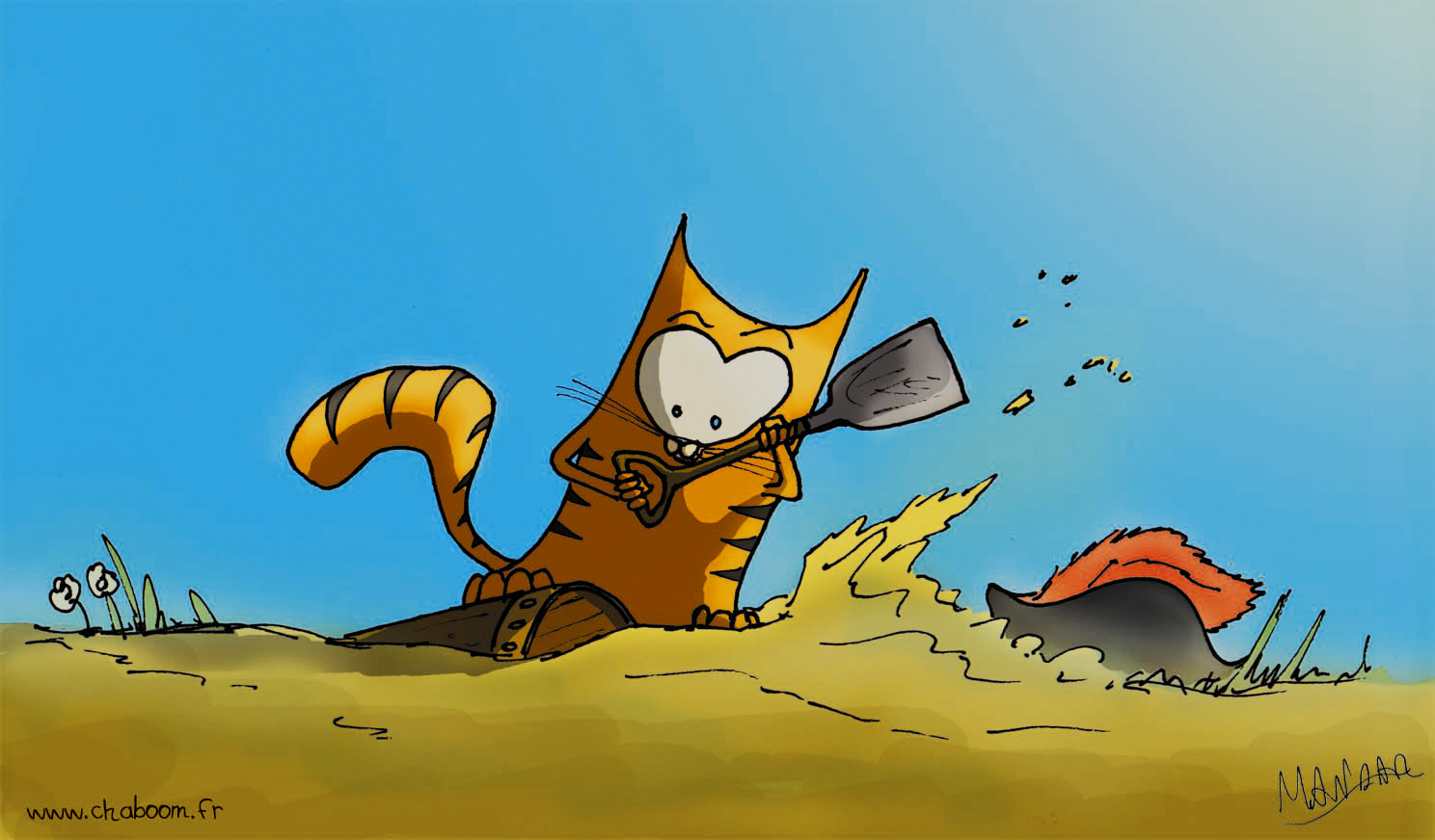 Chaboom the Cat Explore the Caribbean sea with Chaboom the pirate cat!